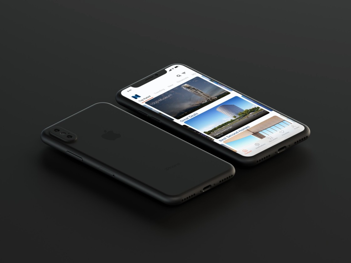 PD - V.2 - Featured - iPhone X Side-view